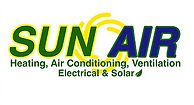 SunAir Heating, Air Conditioning, Electrical, & Solar Logo