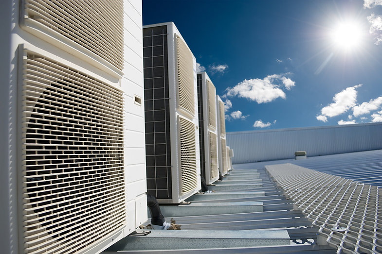 Hvac installation and Hvac replacement on the top of a roof top