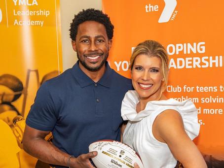 ESPN's Desmond Howard inspires at YMCA Breakfast