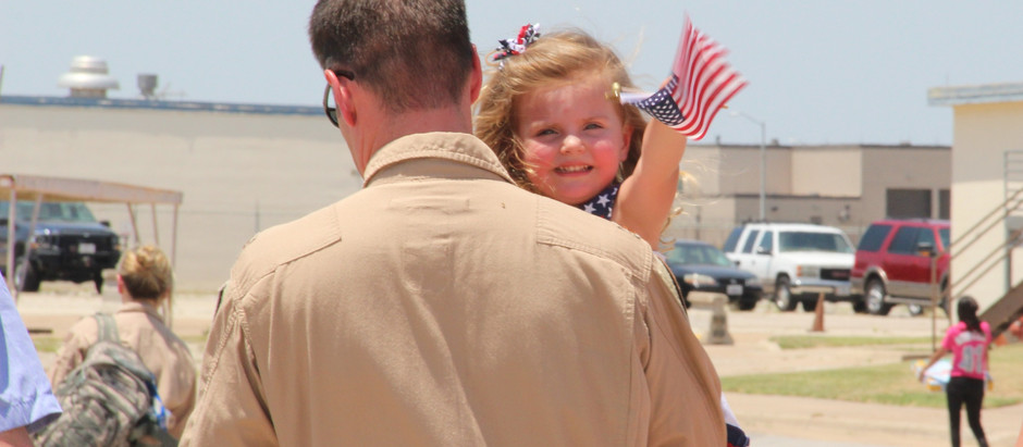 Honoring the heroes we can hug and the ones we wish we could