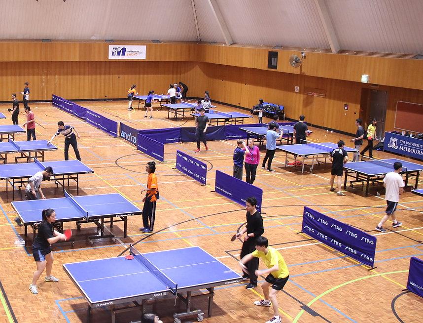 Melbourne University Table Tennis Club