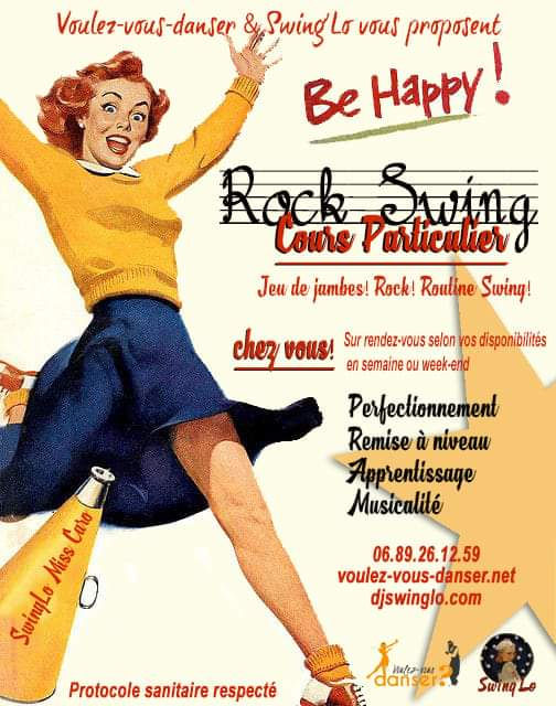 Cours Particuliers avec Swing'Lo & Miss