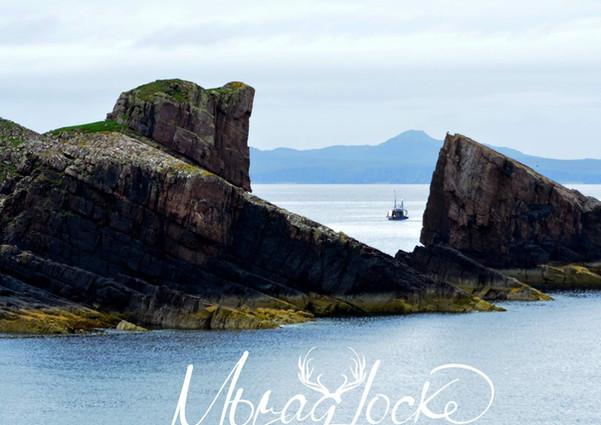 Split Rock, Clachtoll beach with thanks to Morah Locke