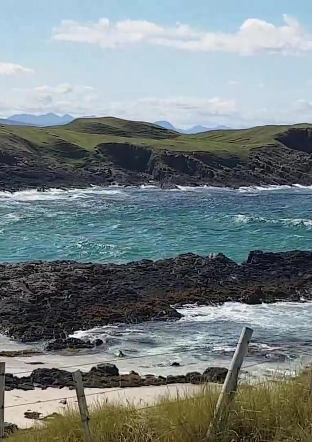 Clachtoll Beach in a breeze Assynt