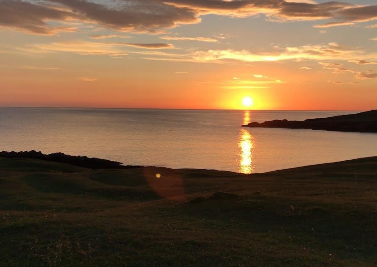 Clachtoll sunset video