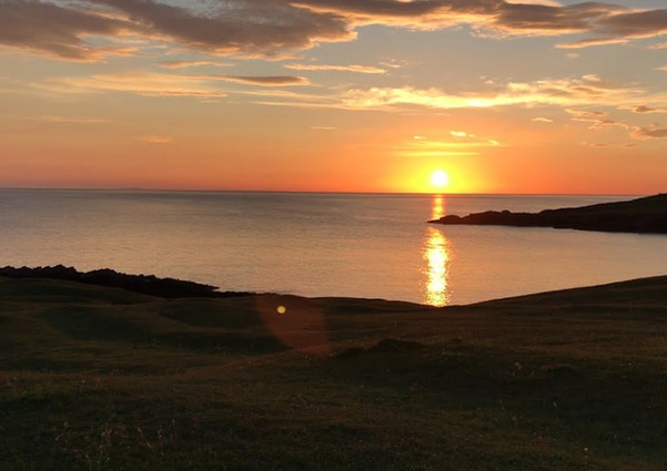 Clachtoll sunset video
