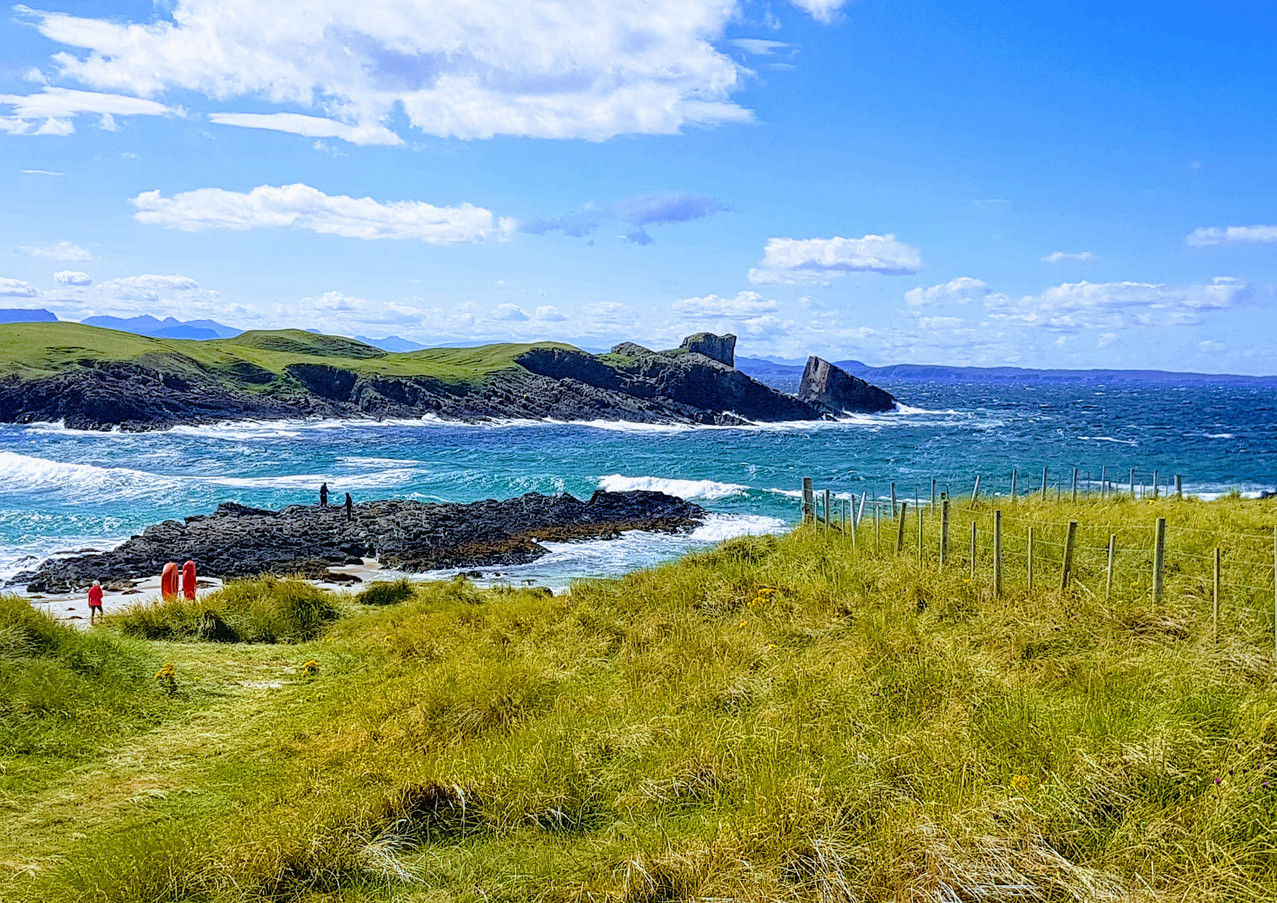 Clachtoll in the sunshine