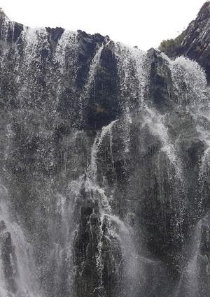 Claxchnessie waterfall Assynt
