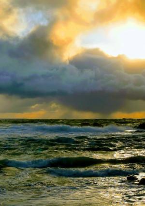 Moody skys at Clachtoll
