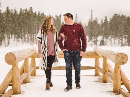 Kelsey & Luke's Rocky Mountain National Park Engagement!