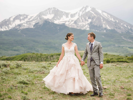 Julia & Patrick's Basalt Wedding @ The Dallenbach Ranch