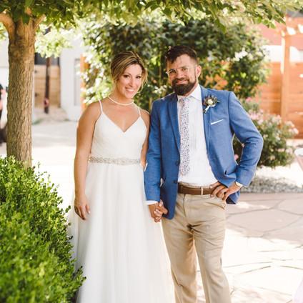 Marisa & Matt's Denver Wedding @ The Kirk of Highland