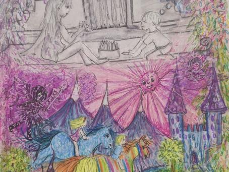 Ginas' secret Power / Flash Fiction / Childrens' story