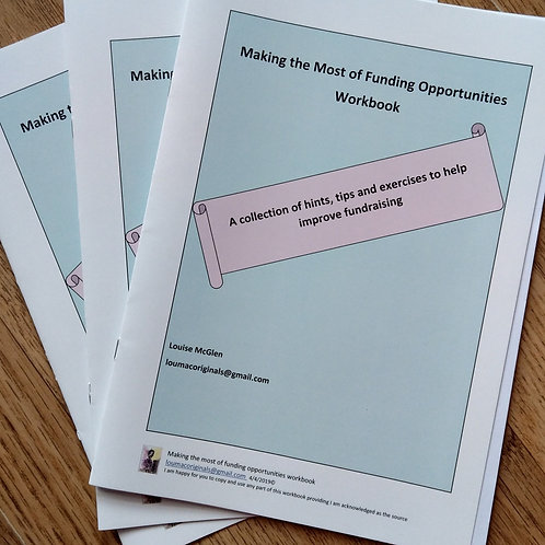 Making the Most of Funding Opportunities Workbook