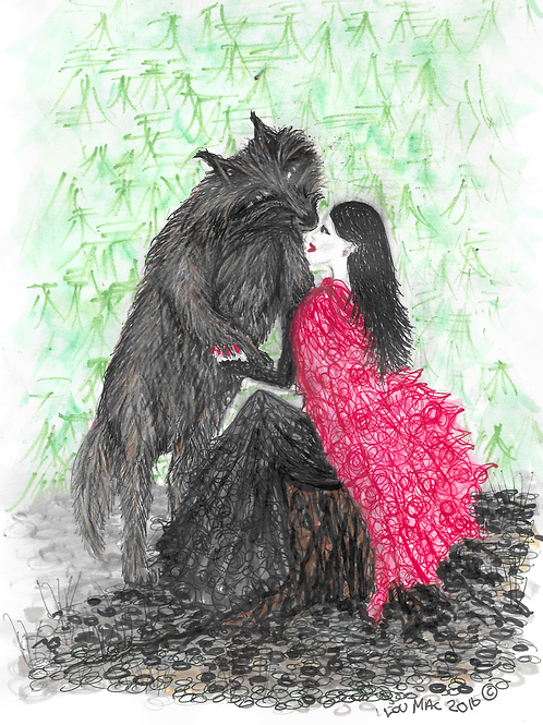 Scarlett and the Wolf