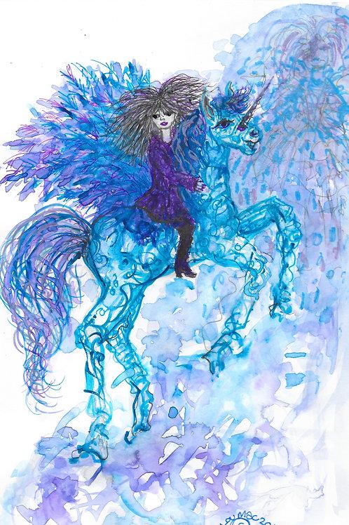 Ursula and the unicorn