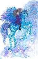 Ursula and the unicorn copyright Loumacoroiginals