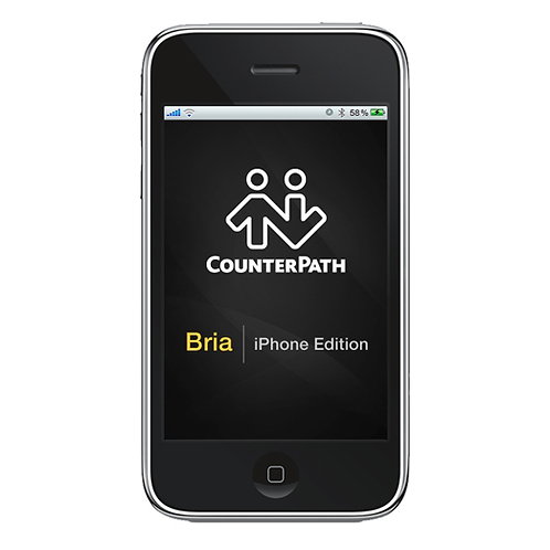 Bria Softphone for iPhone