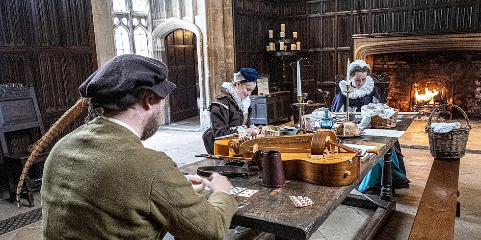 Admission Tickets 30th October 2021 including Living History 'Tudors at Athelhampton'