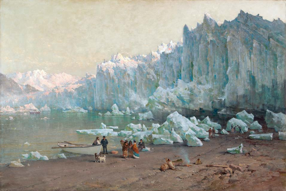 Muir Glacier, Thomas Hill