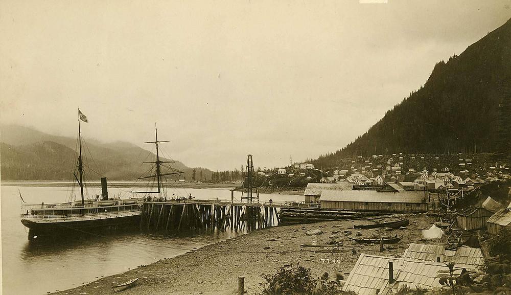 SS Idaho in Juneau 1887