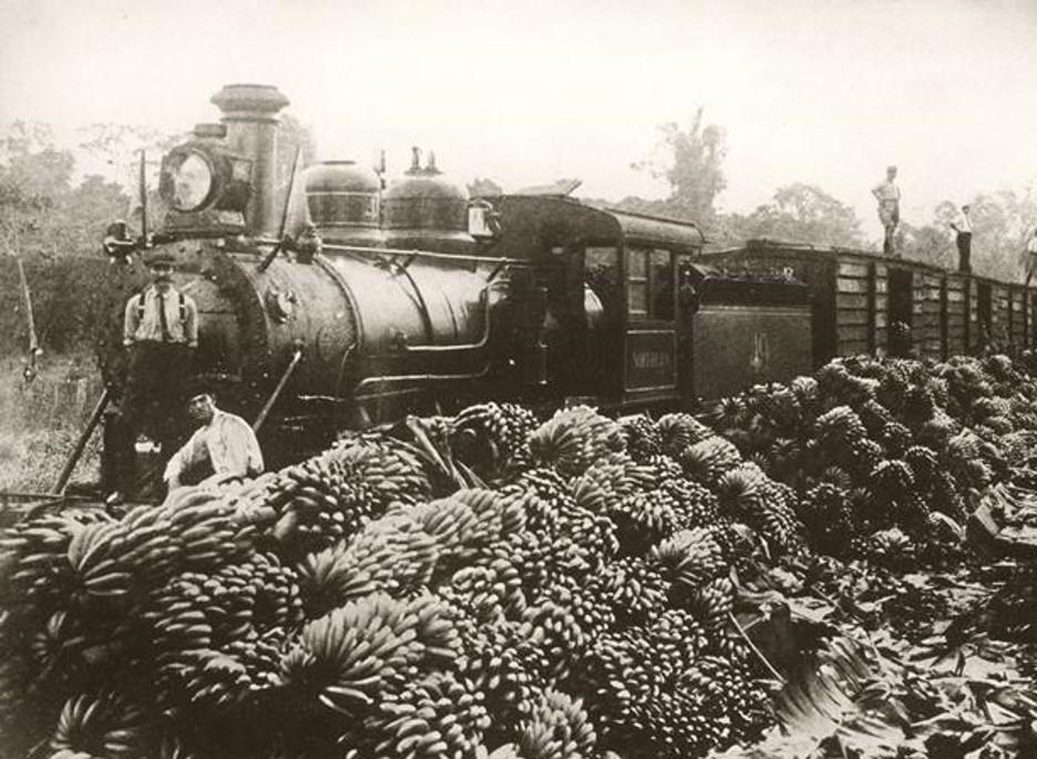 Banana train, Costa Rica 1916