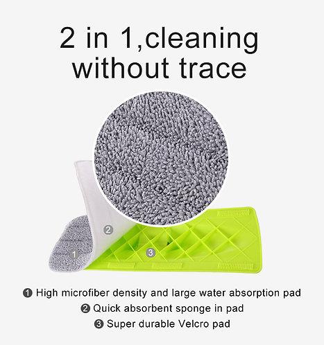 2 micro fibre pads por el Spray Mop