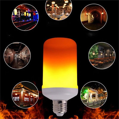 LED Flame Light Bulb - 2 pack