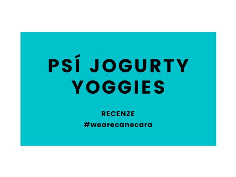 Jogurty Yoggies, doplněk stravy pro Vaše psí parťáky