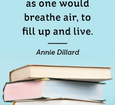 A Quote from Annie Dillard