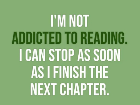 I Am Not Addicted To Reading...Poster