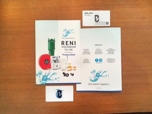 Reni International Co. Ltd Product Book