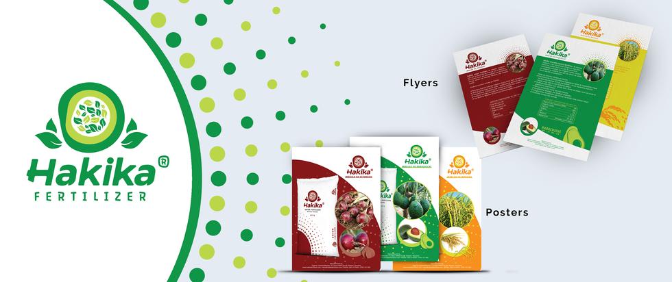 Hakika Fertilizer - Branding Material