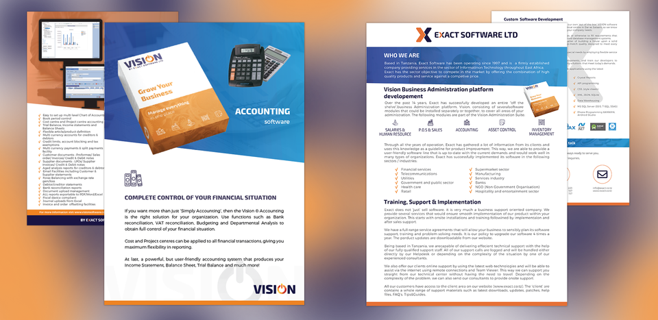 Exact Software Solutions + Vision