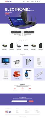 E-Commerce Website Template