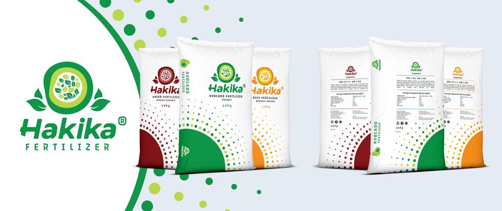 Hakika Fertilizer - Package Design