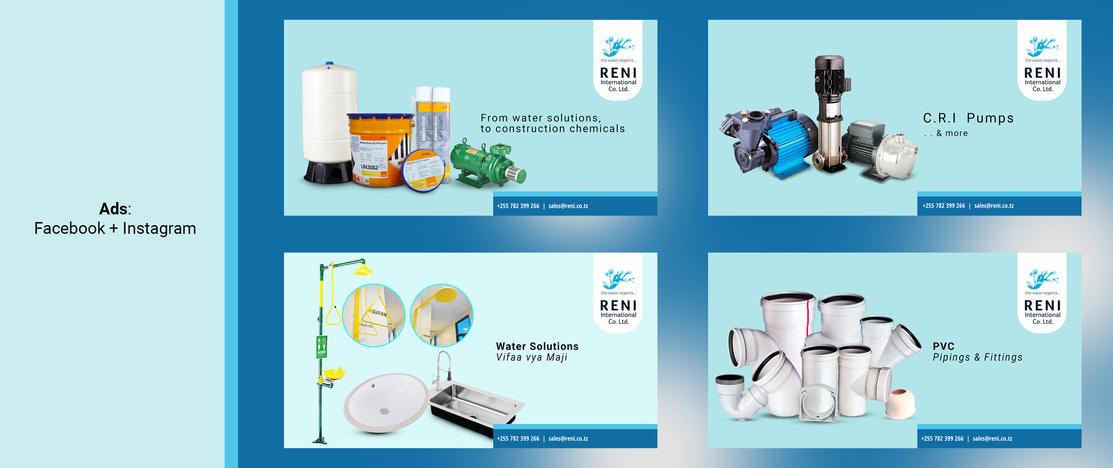 Reni International Co. Ltd. - Social Media Adverts