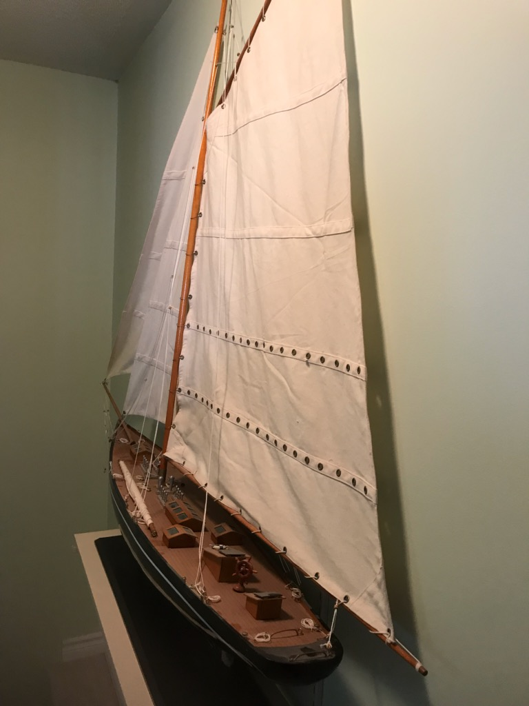 Model Yacht pic 2