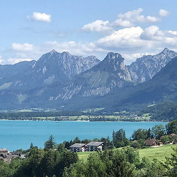 Mondsee in the Lakes region of the Austr