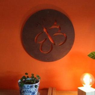 Painel Decorativo em Aço Corten