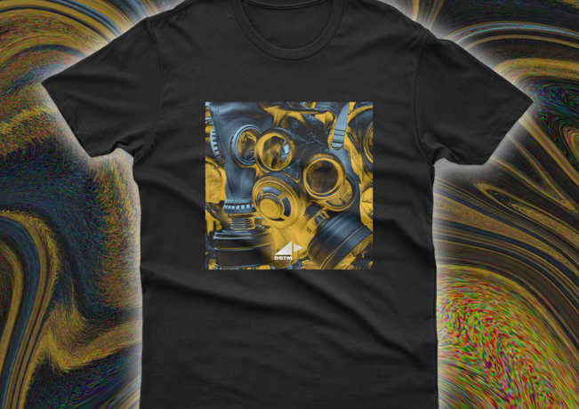 T-Shirt Fighting The Acid In The Computer By DSTM