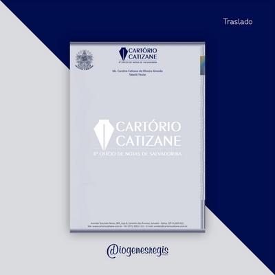 Traslado Cartório Catizane