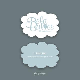 Cartão de Visitas - Bela Balões