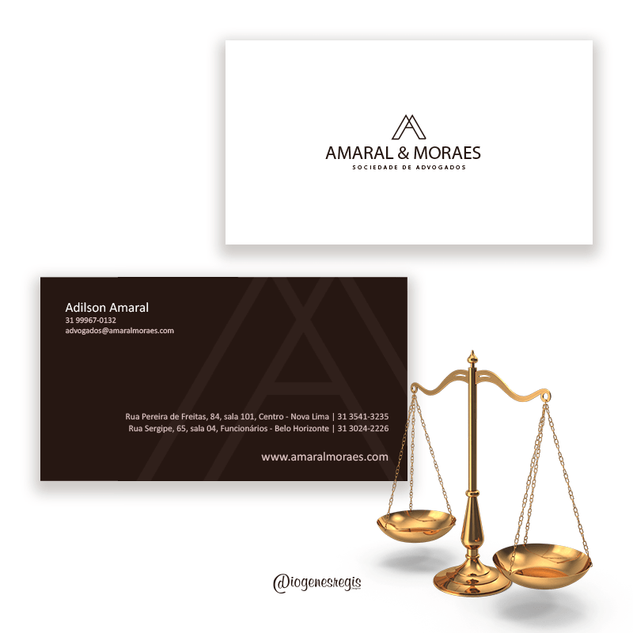 Cartão de Visitas - Amaral & Moraes