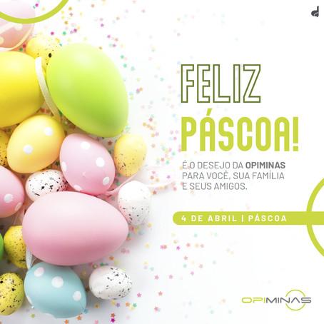 Post de Páscoa - Feliz Páscoa