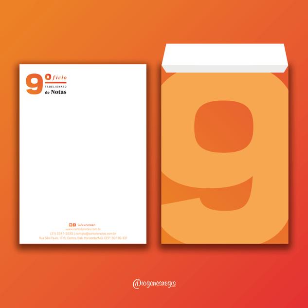 Envelope - 9° Ofício