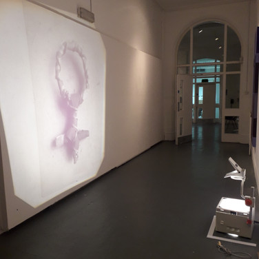Interim Show Piece - Projection