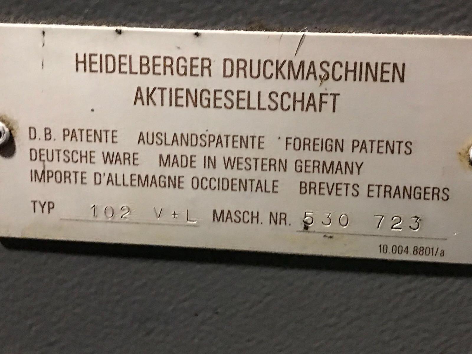 REF 286 HEIDELBERG SM CD 102 VL PIC 2