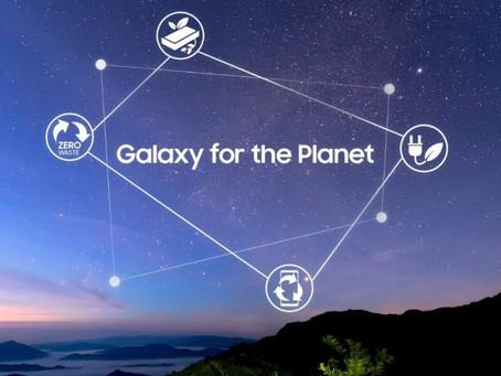 """Samsung cria programa """"Galaxy for the Planet"""" e reforça o seu compromisso com a sustentabilidade"""