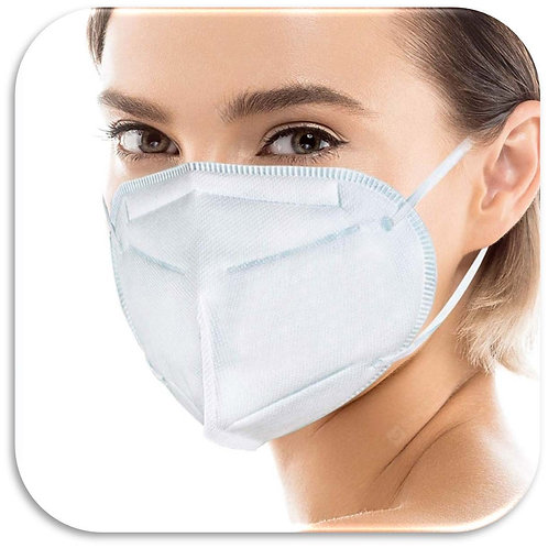 5-Ply KN95 Disposable Face Mask 40-Pack